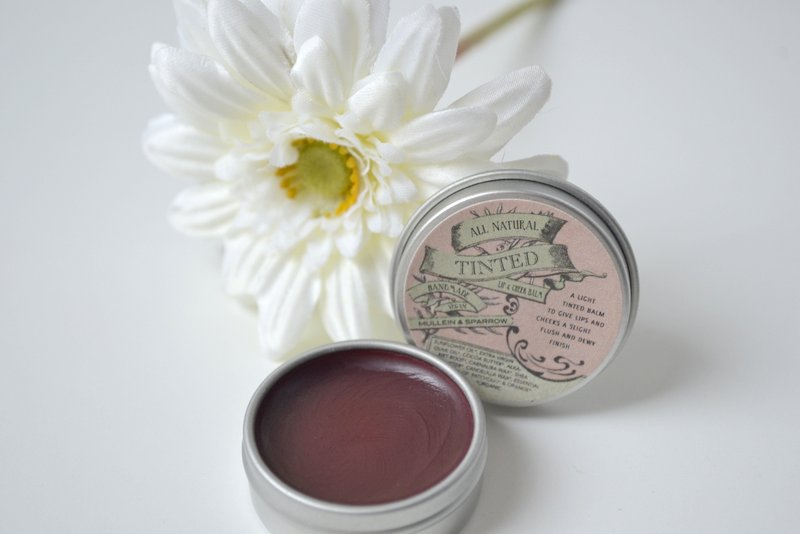 Mullein & Sparrow tinted lip & cheek balm