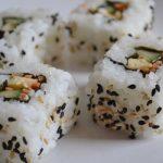 eerste keer sushi