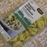 Tortelloni ricotta en spinazie
