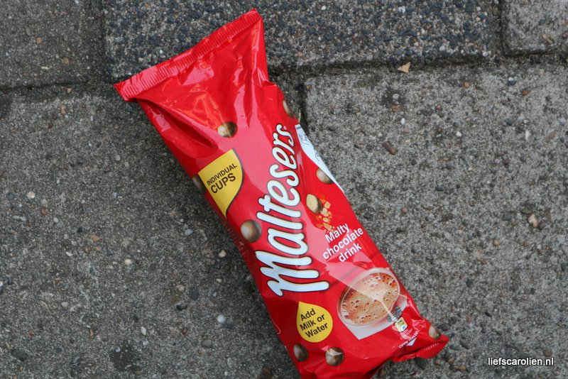 Maltesers – malty chocolate drink!