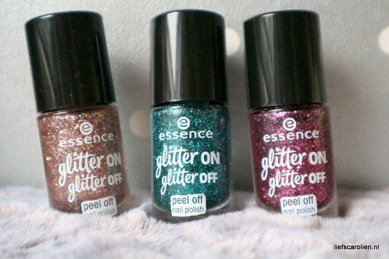 Essence glitter on glitter off peel off