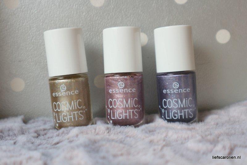 3x Essence cosmic lights nail polish