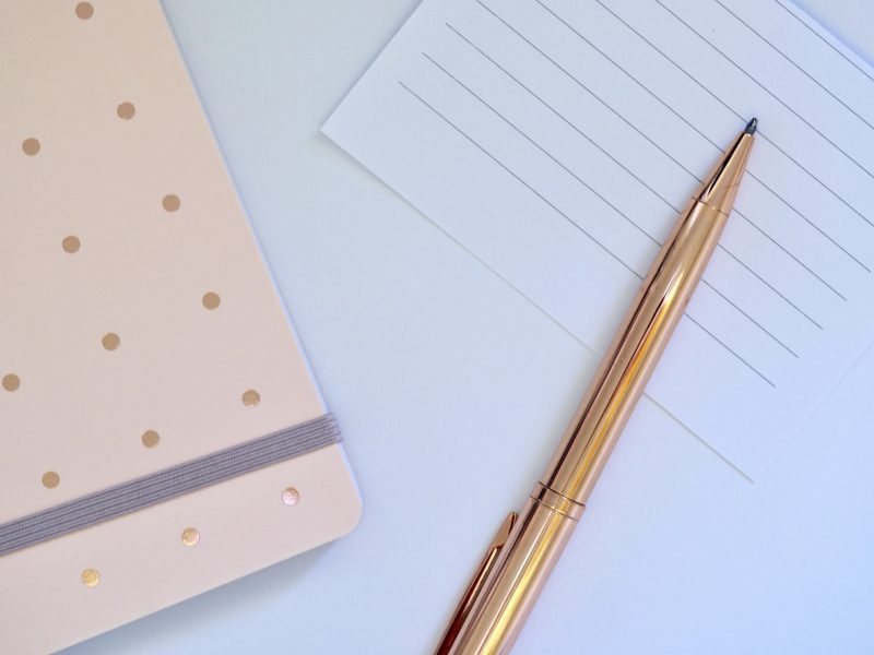 bullet journal, plan with me