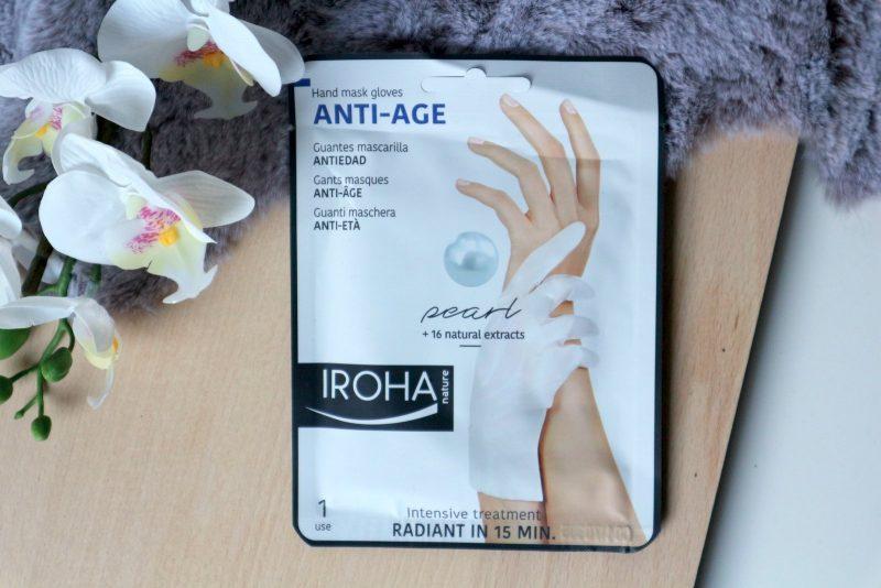 iroha nature hand mask