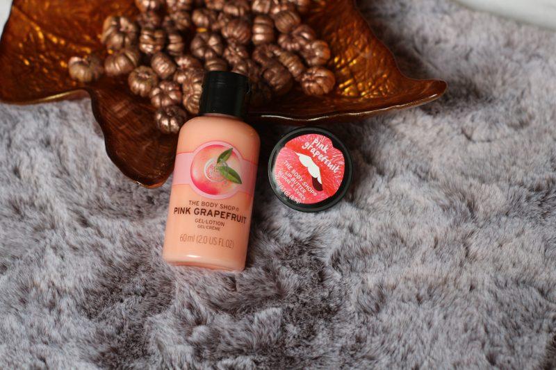 The body shop   Pink grapefruit – bodylotion en lippenbalsem