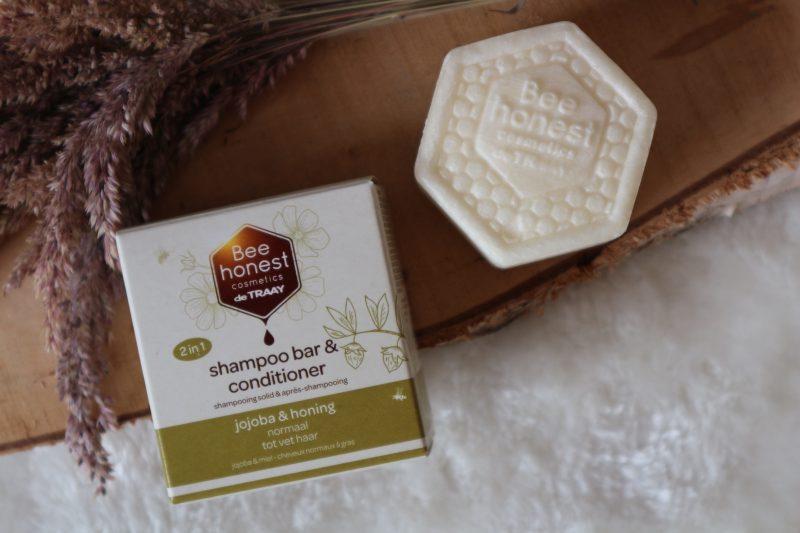 Bee honest cosmetics 2 in 1 shampoo bars & conditioner
