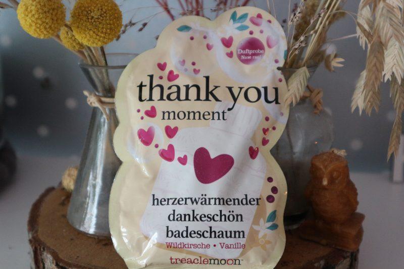 treaclemoon thank you moment